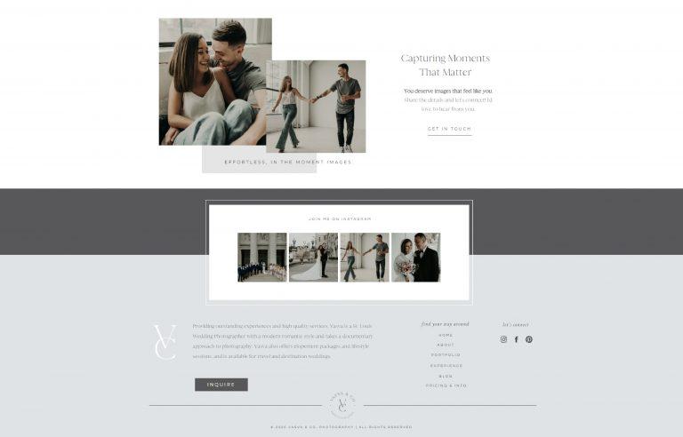 Vasva & Co. Photography - Footer
